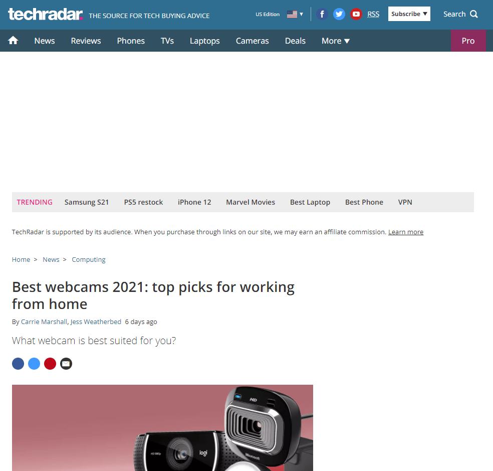 webcam search